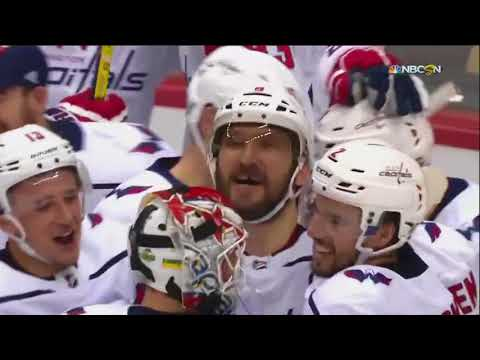 Evgeny Kuznetsov's Game Winner in OT vs  Pittsburgh