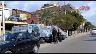 التواجد الامنى فى مناطق وميادين مصطفى محمود و فيصل والهرم