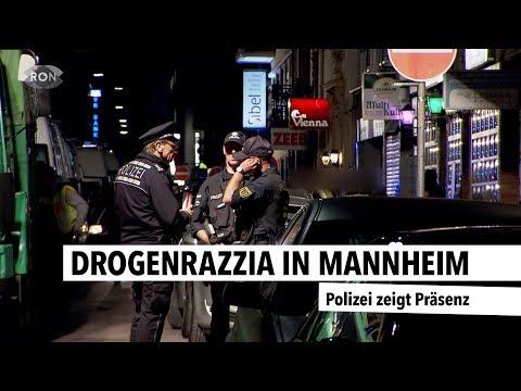 Drogenrazzia in Mannheim | RON TV |