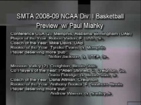 So Much to Talk About: 2008-09 NCAA Basketball Preview-Pt. 5 of 9