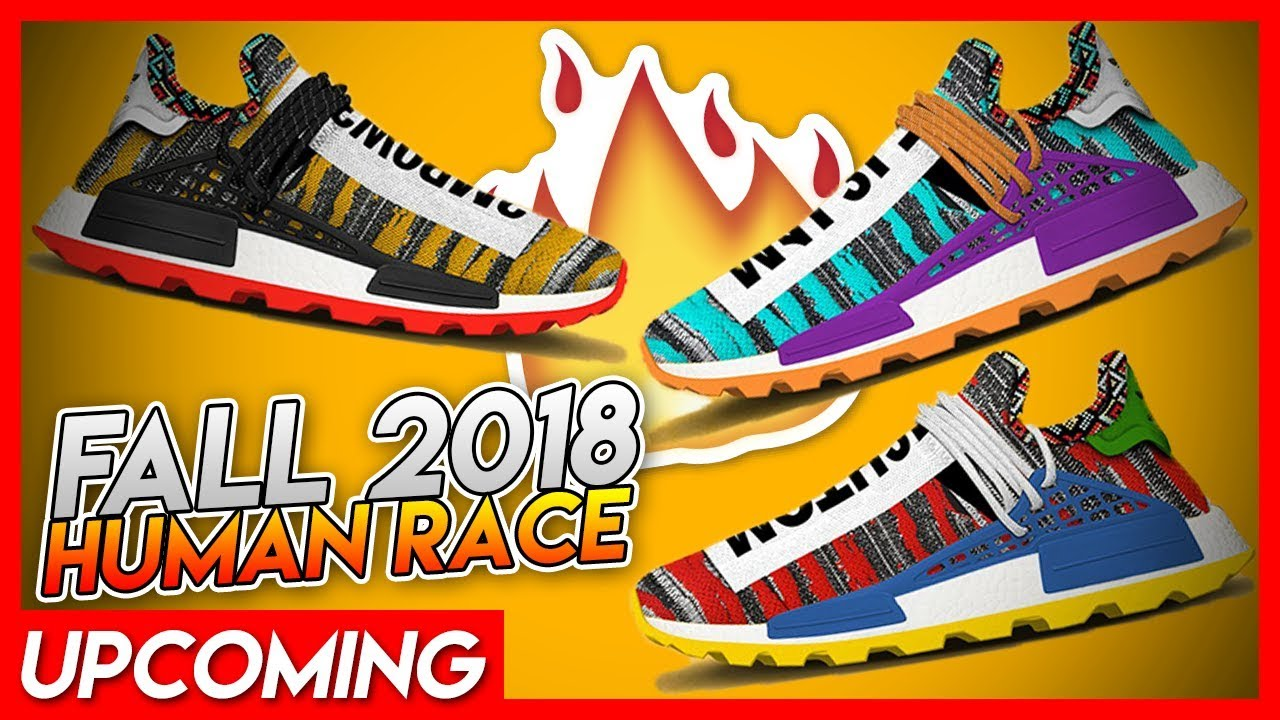 d625b8e95087 MUST COP  Pharrell Williams Human Race Afro NMD Fall 2018 LINE UP ...