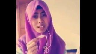 Download Video heboh!!!!!! suara merdu cewek hijab, nyanyikan lagu tum hi ho dibuat solawat MP3 3GP MP4