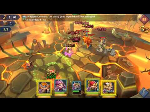 Lords Mobile 7-12 Elite (f2p Heros)