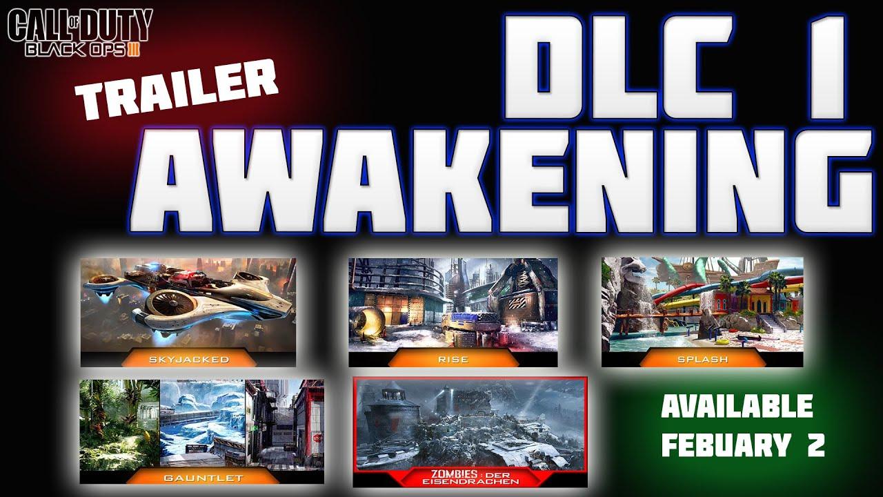 Bo3 Dlc 1 Awakening Trailer מדברים על ה Dlc Youtube