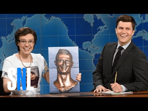 Thumbnail: Weekend Update: Cecilia Gimenez on Cristiano Ronaldo Bust - SNL