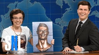 Weekend Update: Cecilia Gimenez on Cristiano Ronaldo Bust - SNL
