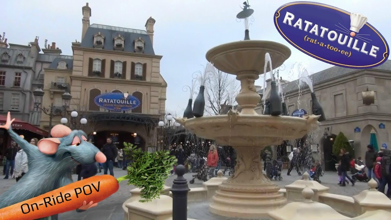 ratatouille disneyland paris 2016 onride attraction compl te youtube. Black Bedroom Furniture Sets. Home Design Ideas
