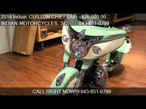 2014 Indian CUSTOM CHIEFTAIN PAINT For Sale In Murre
