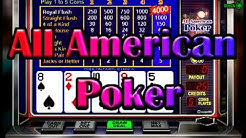 All American Poker Video at Slots of Vegas