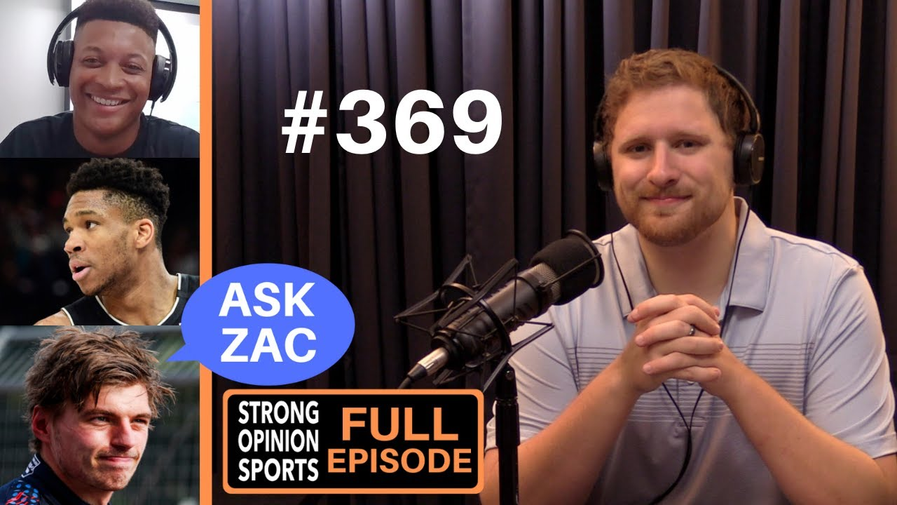 #369 IMG Coach James Price On Playing With Josh Allen, Max Verstappen's Crash, NBA Finals & Ask Zac