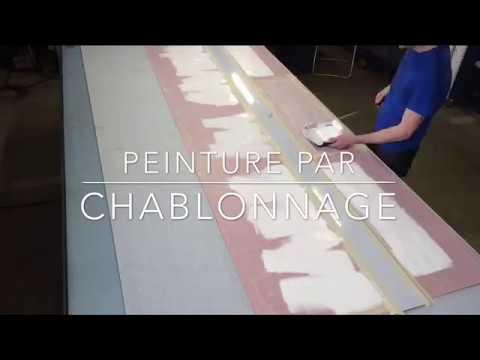 Bâche peinture chablonnage - Publicity Shop