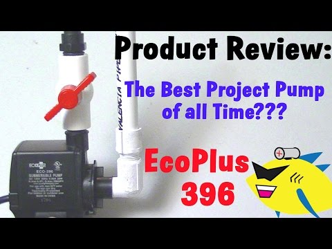 Best Aquarium Filter Pump: Eco 396 Submersible Pump