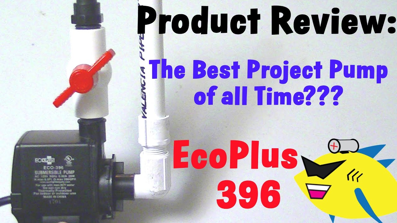 Best Aquarium Filter Pump Eco 396 Submersible Pump Youtube