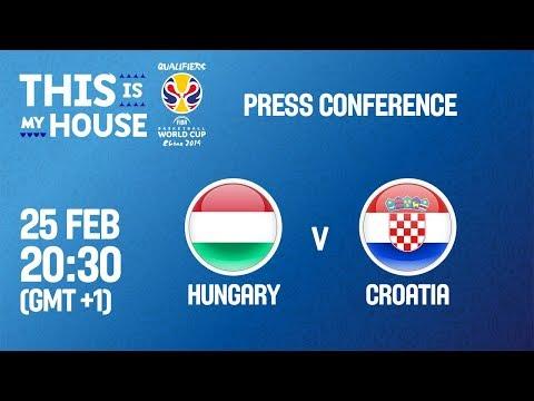 Hungary v Croatia - Press Conference