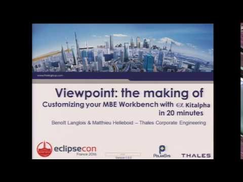 Viewpoint: the making of. Customizing Capella with Capella Studio in 20 minutes