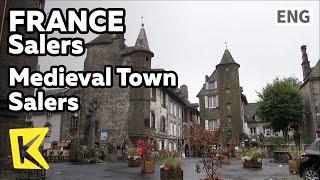 【K】France Travel-Salers[프랑스 여행-살레르]중세마을 살레르 기사단 집/Salers/knightage/House/Cattle/Medieval Town