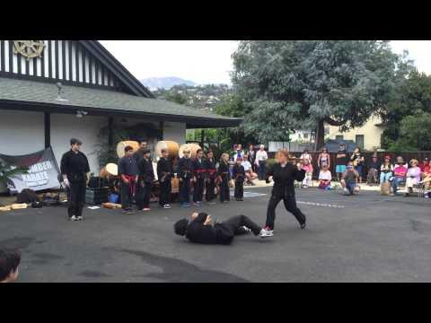 Macomber Karate Demo 2015