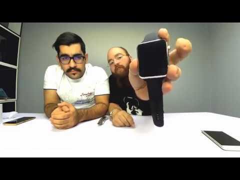 آنباکس ساعت هوشمند طرح اپل - بترکونیمش یا جاییزه بدیم؟