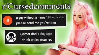 r/Cursedcomments | send me you're toes