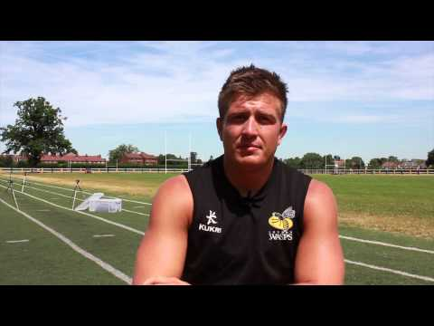 Welcome to Wasps : Ed Jackson