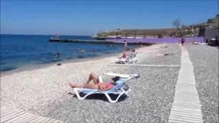 Пляжи Севастополя. Пансионат