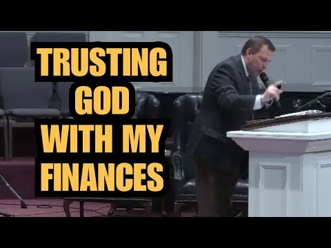 """Trusting God With My Finances"" – Jimmy Toney"
