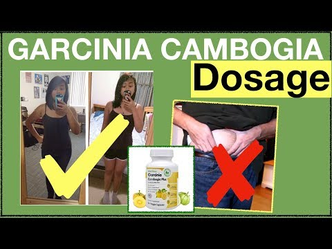 Garcinia Cambogia Dosage: How Much Pills Should You Take For Weight Loss? IMPORTANT See Our Review