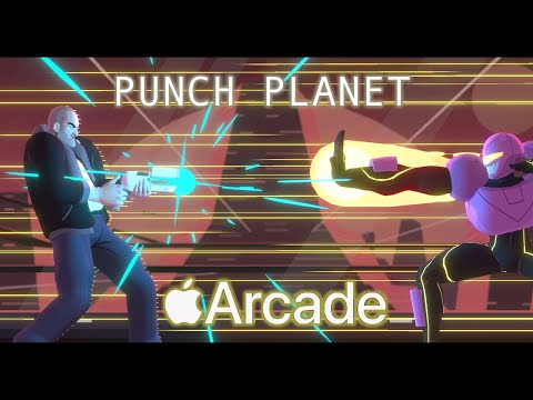 Apple Arcade Review: Punch Planet - A Fun Sci-Fi Fighter