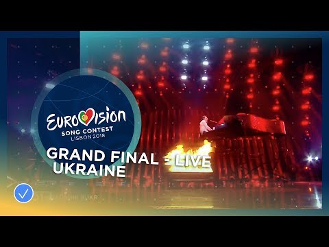 MELOVIN - Under The Ladder - Ukraine - LIVE - Grand Final - Eurovision 2018