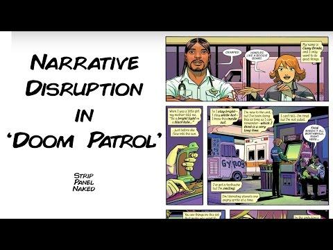 Narrative Disruption in Doom Patrol (2016) | Strip Panel Naked