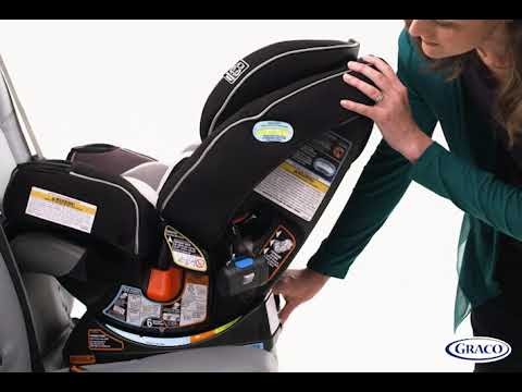 Rear Facing Ez Tight Latch Installation Graco 4ever Extend2fit Platinum Youtube