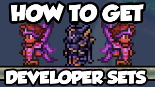 Terraria 1.3 - How To Get Developer Armor & Wings - Terraria 1.3 Developer Set Tutorial