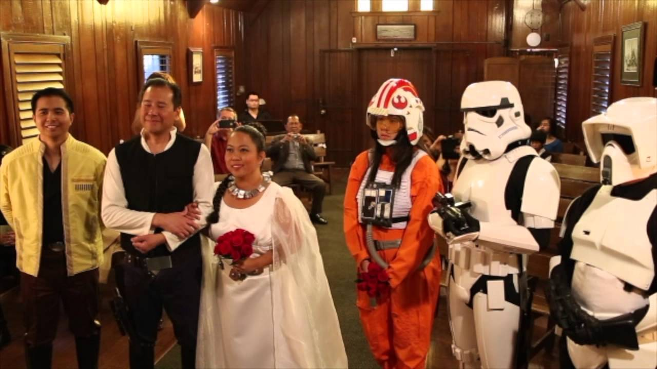 Galactic Themed Weddings Little Church Of The West Youtube