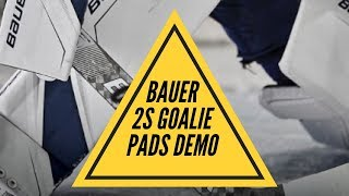 Bauer 2S Pads Demo (On Ice)