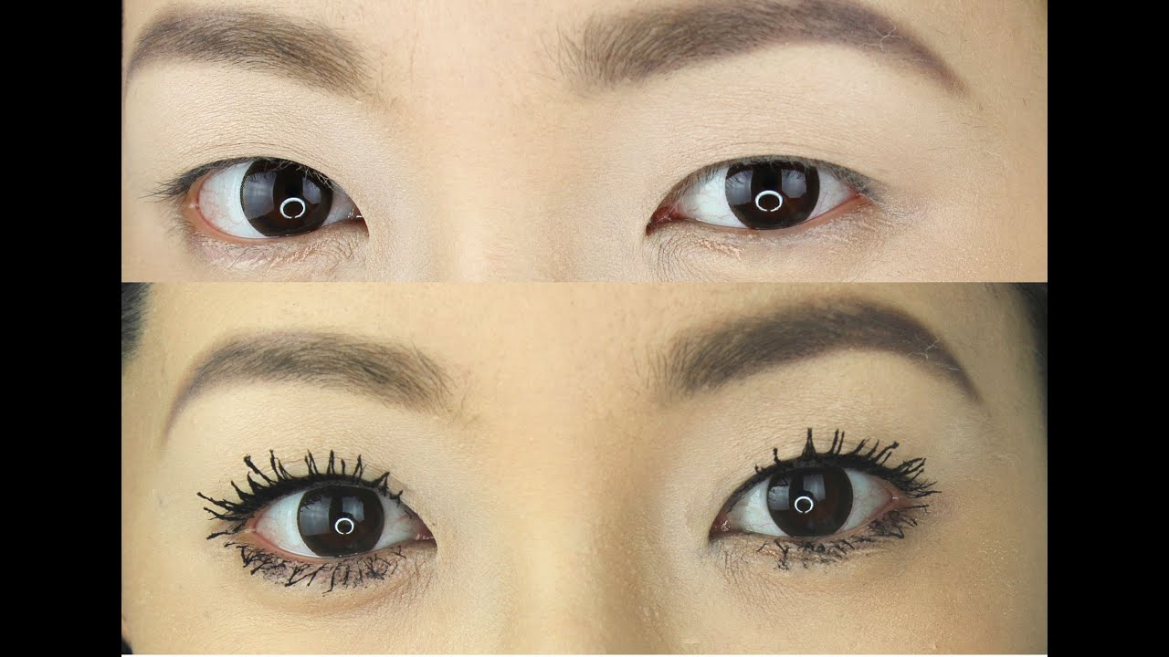 HOW TO GET FAKE LOOKING LASHES (ASIAN EYES ...