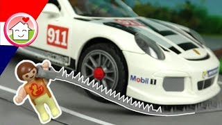 Playmobil filmpje Nederlands De snelheidscontrole - Familie Huizer - Playmobil politie