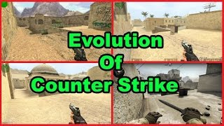 Evolution Of Counter Strike 1999 to 2017|From Counter Strike Beta 1 To Counter Strike Online 2