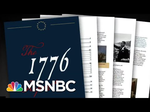 White House Releases '1776 Report' That Tries To Erase Legacy Of Slavery | All In | MSNBC
