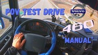Volvo FH 460 EEV *Manual* | POV Test Drive (60fps)
