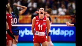 Stefana Veljković  - Middle blocker - FIVB Volleyball Women's WCH 2018