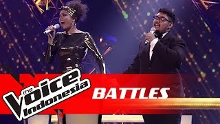 Rambu vs Abraham - I'd Do Anything For Love (Meat Loaf) | Battles | The Voice Indonesia GTV 2018