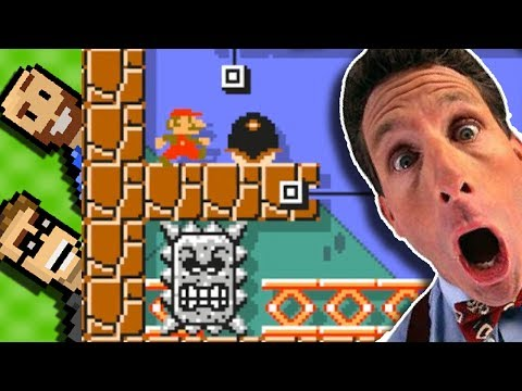 5 Mario Maker Courses with One SURPRISING Thing in COMMON! | 12 Item Challenge Round 38