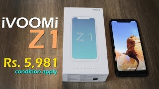 iVOOMi Z1 unboxing - Big Billion Day offer with HDFC cards Rs. 5,981
