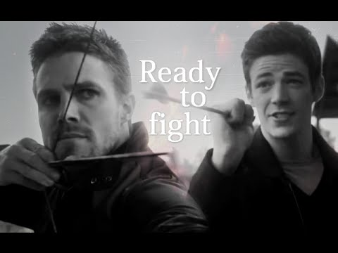 Oliver & Barry | Flarrow {ready to fight}
