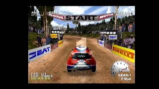 Let's Play Test Drive V-Rally Dreamcast HD