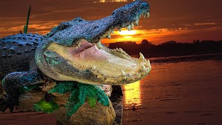 Record Size Alligator {Catch Clean STUFF} The BEST Alligator Taxidermy in AMERICA!