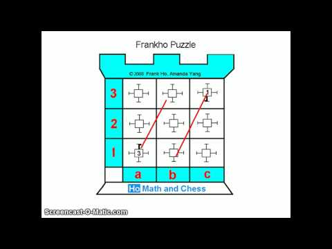 Frankho puzzle - child education franchise Ho Math and Chess Learning Center