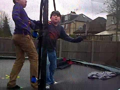 trampoline footy