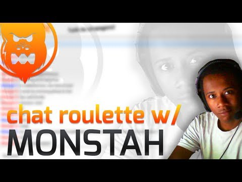 Chat Roulette With Monstah  - Gay Trolling??