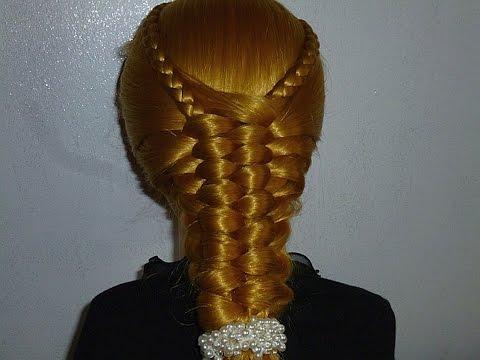 Einfache Zopf-Frisur. Flechtfrisuren schnell zum selber machen. Quick Braid Hairstyle.Peinados